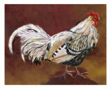 Rooster Rex Giclee Print by Louise Francke