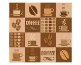 Coffee Poster Giclee Print by Stasys Eidiejus