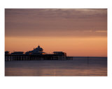 Llandudno Pier At Dawn Photographic Print by Christopher Rowlands