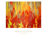 Forest Fire Giclee Print by Andrea Allegrone