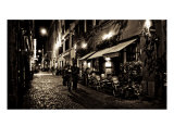 Night Walk, Rome Photographic Print by Caimin Jones