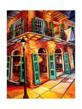 New Orleans Jazz Corner Prints by Diane Millsap