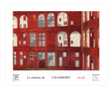 Chambord In Red Giclee Print by Ella Svirsky