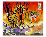 Tiger River Reproduction procédé giclée par Mark Richmond