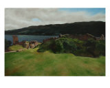 Urquhart Castle Giclee Print by Ariane Berends-brouwer