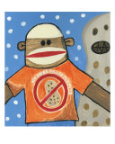 Attack Of The Killer Peanut Giclee Print by Brenda Young
