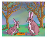 Distracted Easter Bunnies Photographic Print by Audra Lemke