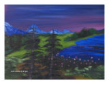 Northern Night Giclee Print by Vincent Johnson