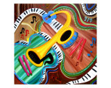 Musical Wow Giclee Print by Jerry Clovis