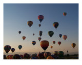 Balloon Rising Photographic Print by Amber Worthey