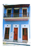 Traditional House, Old San Juan, Puerto Rico Photographic Print by George Oze