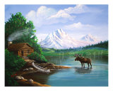 A Piece Of Paradise Giclee Print by Don C. Williams