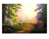 Path Of Light Giclee Print by Don C. Williams
