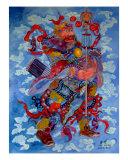 Heaven Rises Him, Who Can Downs Him  (Yu Chigong) Giclee Print by Liang Lei