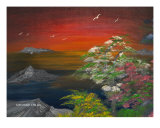 Fire In The Sky Giclee Print by Vincent Johnson