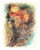 Portofino, Italy Giclee Print by Harriet Solit