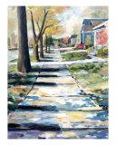 Musical Avenue Giclee Print by Kristin Morris