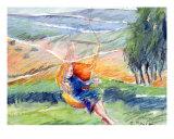 Daydream Swing Giclee Print by Elisheva Shira