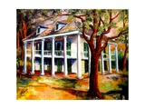 Bayou Plantation Giclee Print by Diane Millsap