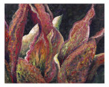 Flaming Leaves Giclee Print by Nadine Rippelmeyer