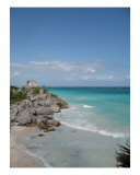 Tulum Coastline Photographic Print by Rae Anne Lawrason