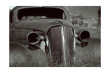 Classic Car Body In Bodie, Ca Photographic Print by George Oze