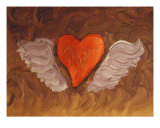 Wings Of Love Giclee Print by Jon Rainford