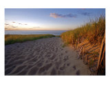 Cape Cod Beach At Sunset (Provincetown) Photographic Print by Christopher Seufert