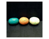 3 Speckled Eggs Photographic Print by Nancy Suzanne Mueller