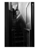Visitant On The Stairs Photographic Print by Eleanor Caputo