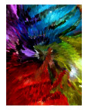 Swirling Color Photographic Print by Florene Welebny
