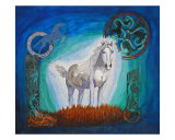 Ethereal Visitor Giclee Print by Sandy Schulte-day