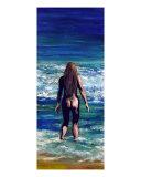 Surf Nude Giclee Print by Nik Killeen