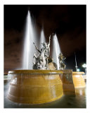 Fuente Raices In Old San Juan Photographic Print by Pablo Jones