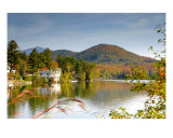Mirror Lake New York Photographic Print by David Thompson