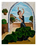 The Flamenco Dancer Giclee Print by Tara Sreedharan