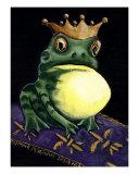 Frog Prince Giclee Print by Derek Mckindles
