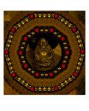 Buddha Among Stars Giclee Print by Pepita Selles
