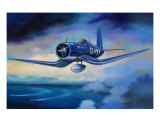 F4U Corsair Giclee Print by jack connelly