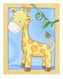 Giraffe Giclee Print by Cheryl Burke