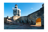 El Morro Lighthouse Photographic Print by George Oze