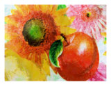 Fruit And Flower Photographic Print by Florene Welebny