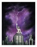 Zeus Giclee Print by Derek Mckindles