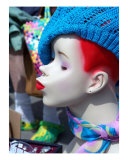 Woodstock Flea Market Mannequin Photographic Print by Karin Kalabra