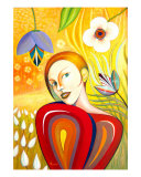 The Paradise (Celine) Giclee Print by Necip Tuyeni