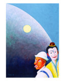 The Clowns Giclee Print by Necip Tuyeni