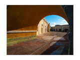 Archway and Yard, El Morro Fort, San Juan Photographic Print by George Oze