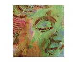 Shen Zen Buddha Giclée-Druck von Ricki Mountain