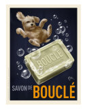 Savon De Boucle - Poodle Gicl&#233;e-Druck von Chad Otis