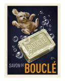 Savon De Boucle - Poodle Giclee Print by Chad Otis
